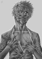 Hollowficated Ichigo by VKliza