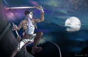 Corporal Levi: Shingeki no Kyojin by VKliza
