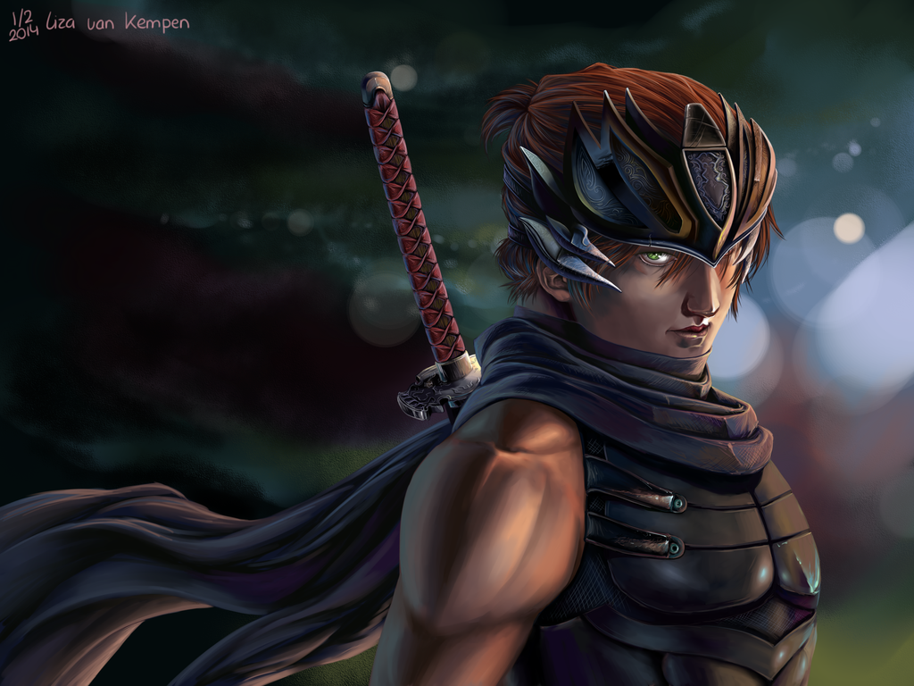 Ryu Hayabusa by VKliza