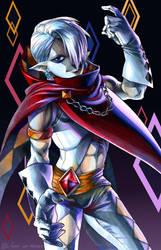 Demon Lord Ghirahim by VKliza