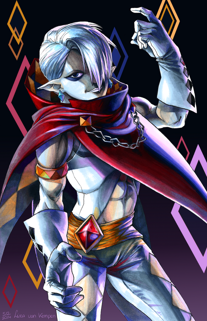 Demon Lord Ghirahim by VKliza