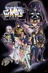 Star Wars Awakening: The fell dragon strikes back by VKliza
