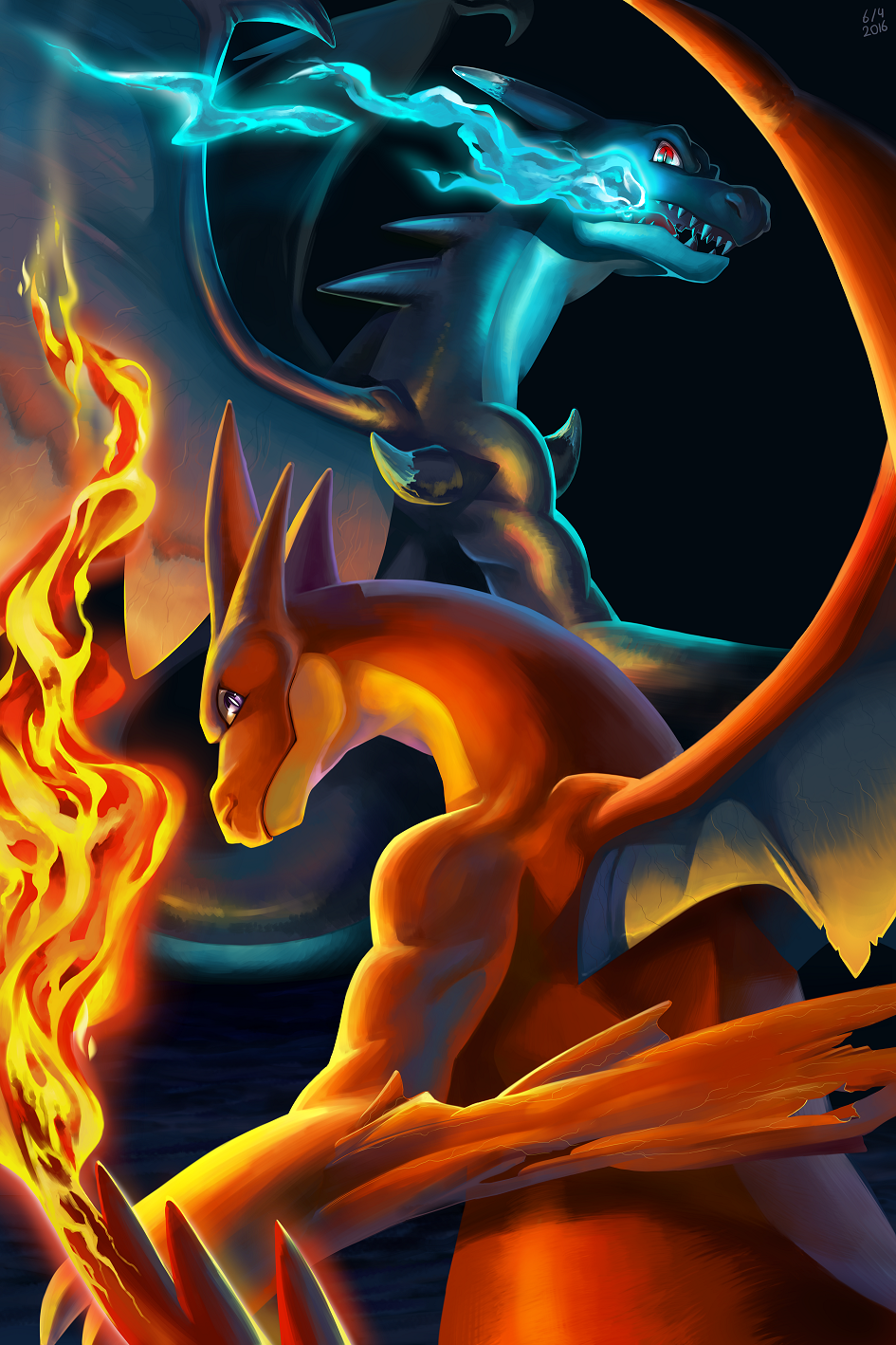 Mega charizard xy by VKliza on DeviantArt