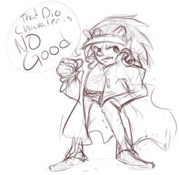 Jonic The Johog by ChibiKitsuneArtist
