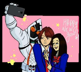 Happy New Year by ChibiKitsuneArtist