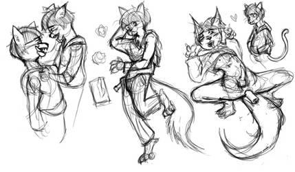 Furry Garbage by ChibiKitsuneArtist