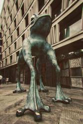 Alien in town by g4l4d4n