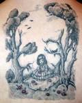 Skull Illusion Tattoo