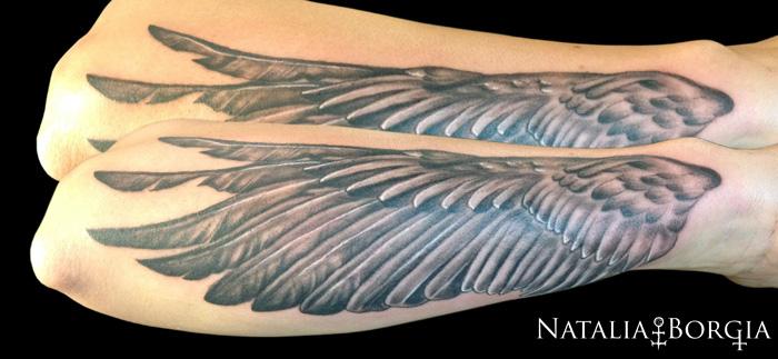 Wing Tattoo by nataliaborgia