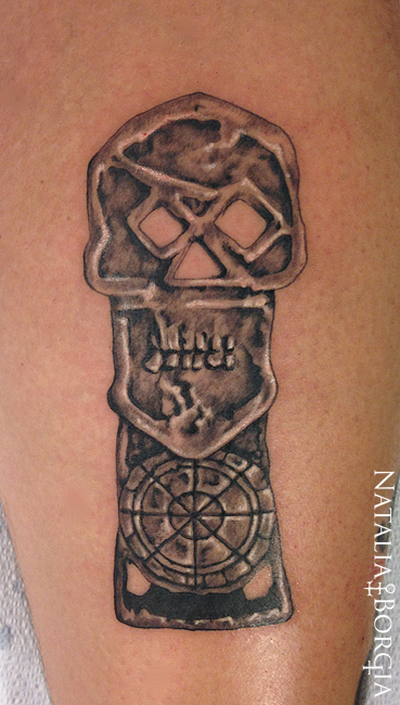 The Goonies key tattoo by nataliaborgia