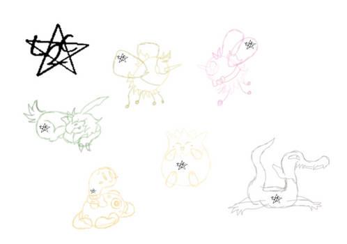 PKMN-Legion: (Gift Art) Pet Bundle [Sketch]