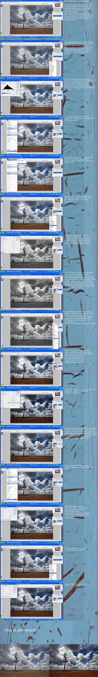 Photoshop Layer adjust Tute