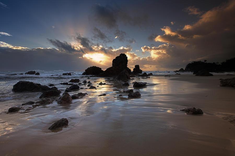 Crossing the Sands by Sun-Seeker