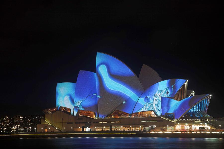Sydney Opera Splash by Sun-Seeker