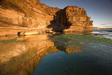 Reflecting on Canyon X by Sun-Seeker