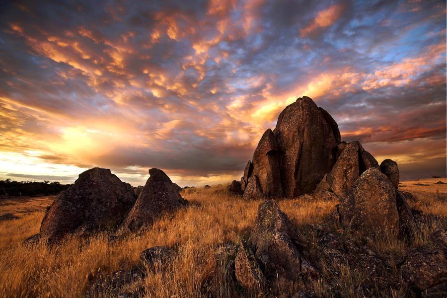 On Fire Mountain by Sun-Seeker