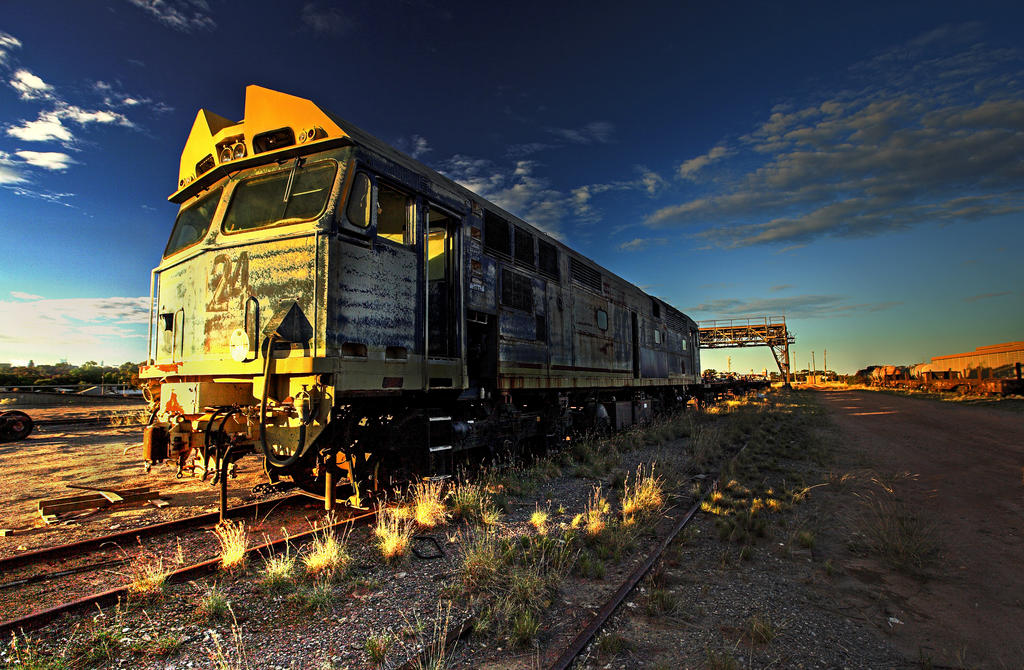 Dust Storm Express by Sun-Seeker