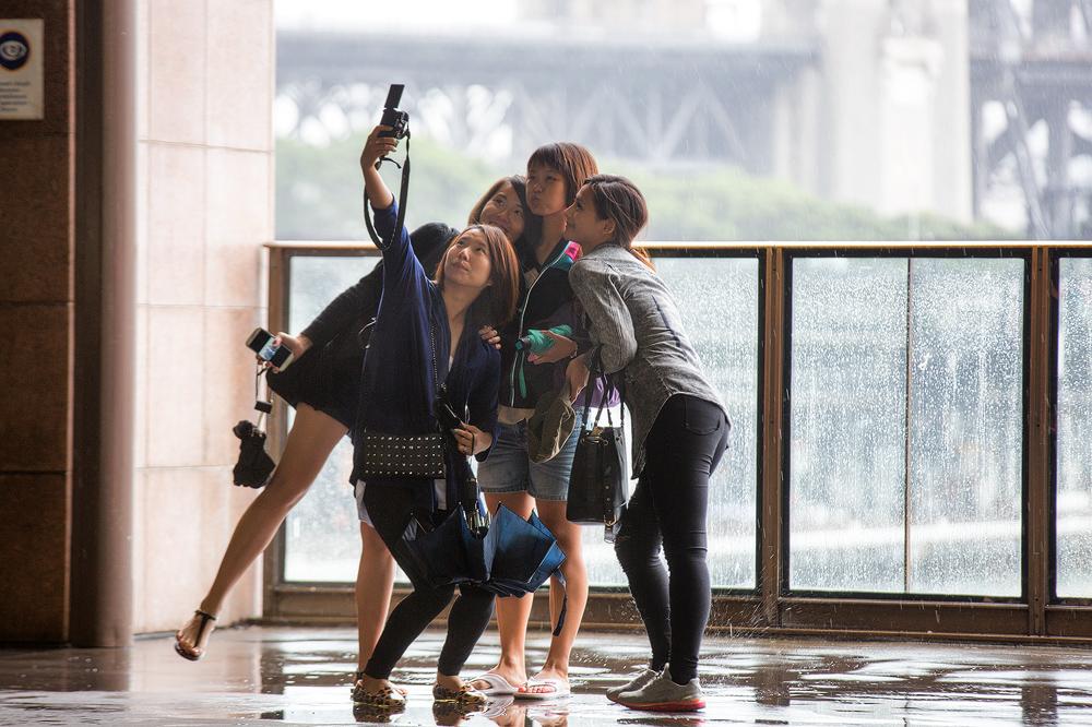 The Sydney Selfie by Sun-Seeker