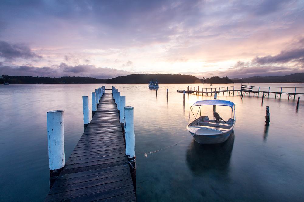 Marina sunset by Sun-Seeker