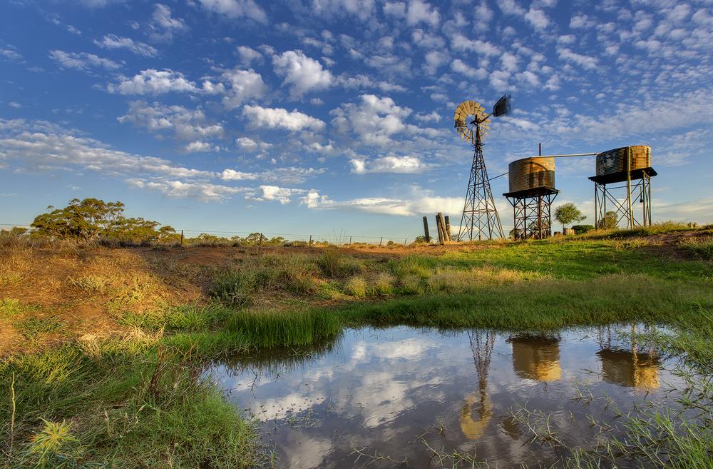 The Windmill by Sun-Seeker