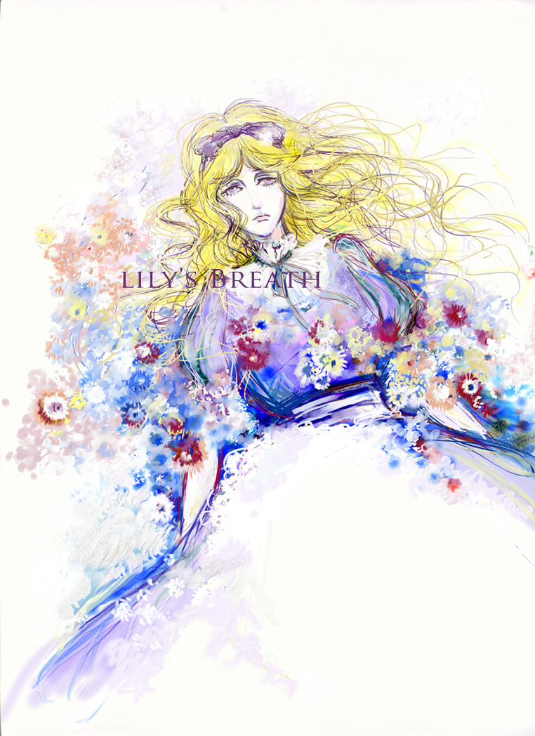 The maid in flower sea by lilysbreath