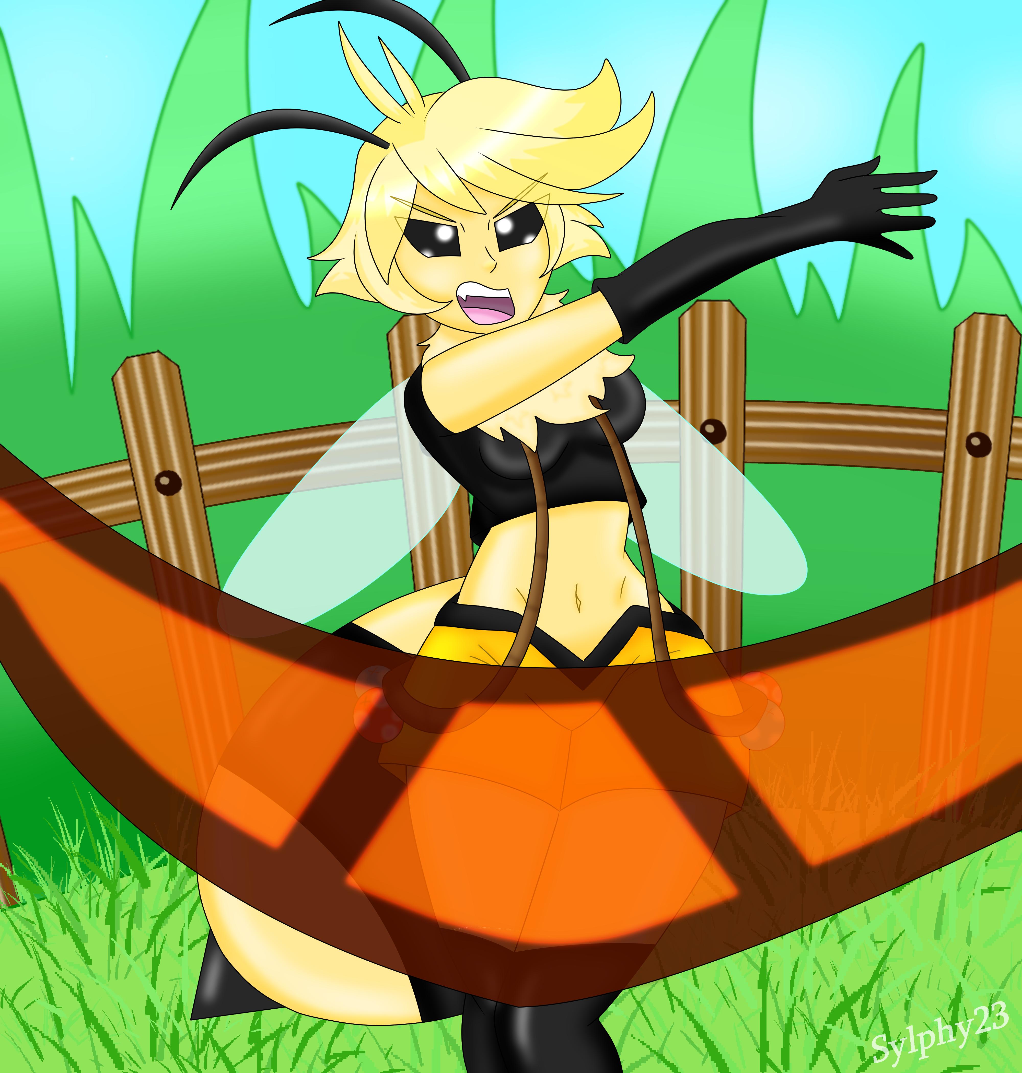 Vi from Bug Fables Humanized