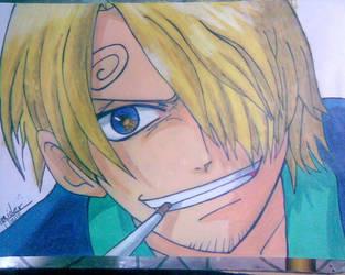 SAnji one piece_hand made by haidy-uchiha
