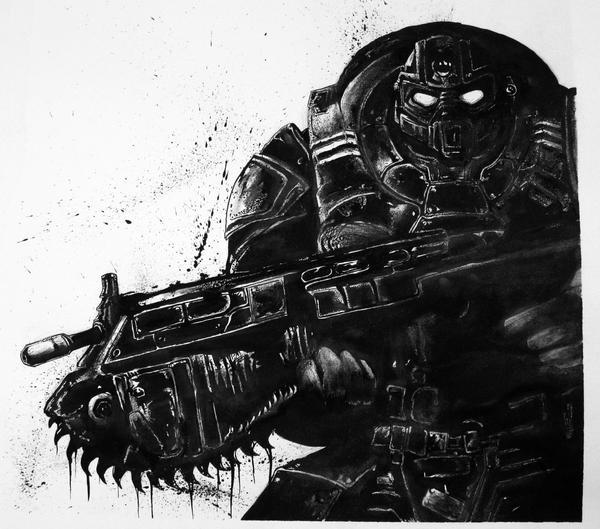 gears of war hd wallpaper by 4 4k