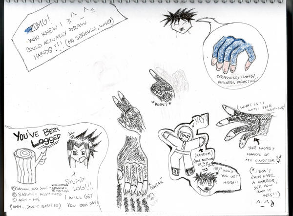 drawing hands practice doodle by kingdom of friends on deviantart