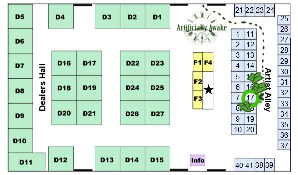 Vendors Hall Map by ArtificiallyAwake