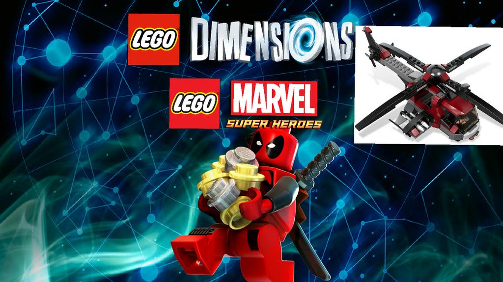 lego Dimensions idea:Deadpool fun pack (bouns) by alexfireup on ...
