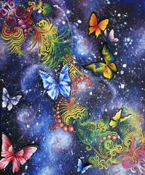 Vector Butterflies by Kyla-Nichole