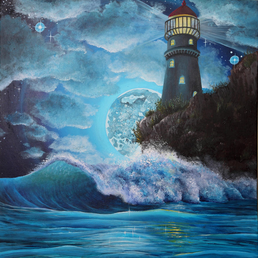 The Lighthouse by Kyla-Nichole