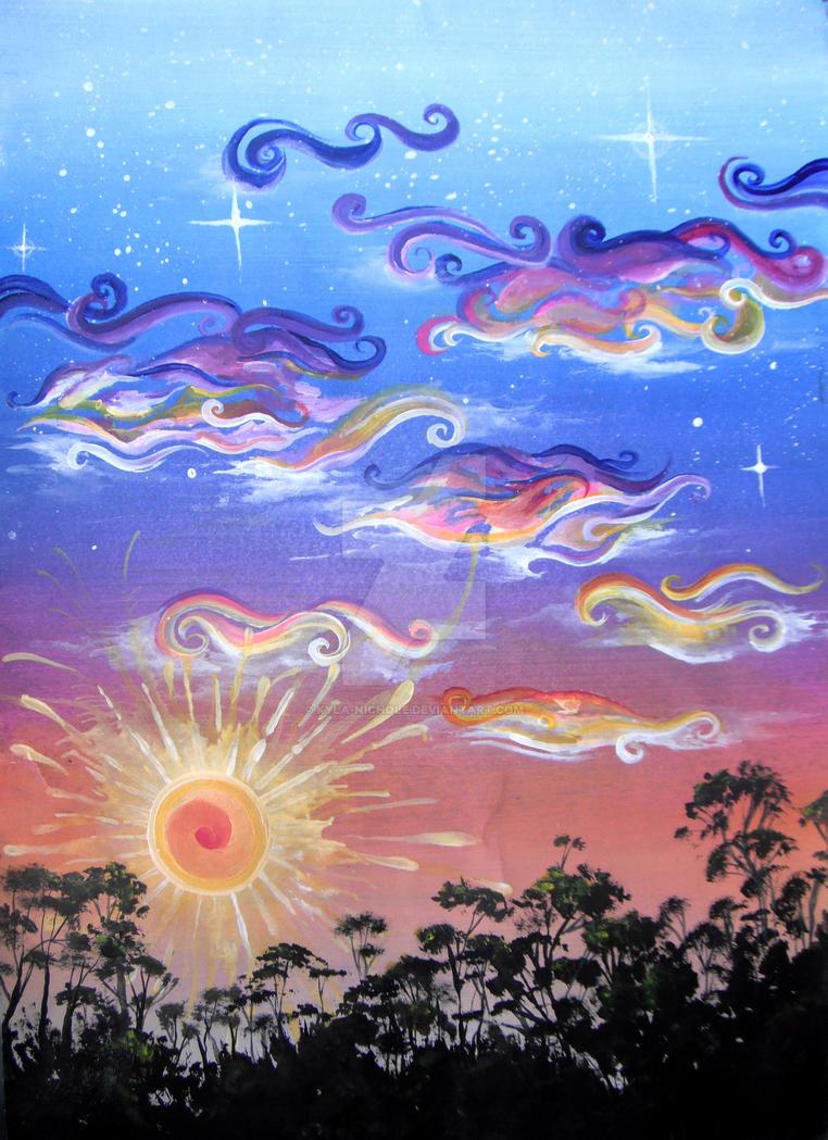 Australian Sunset by Kyla-Nichole