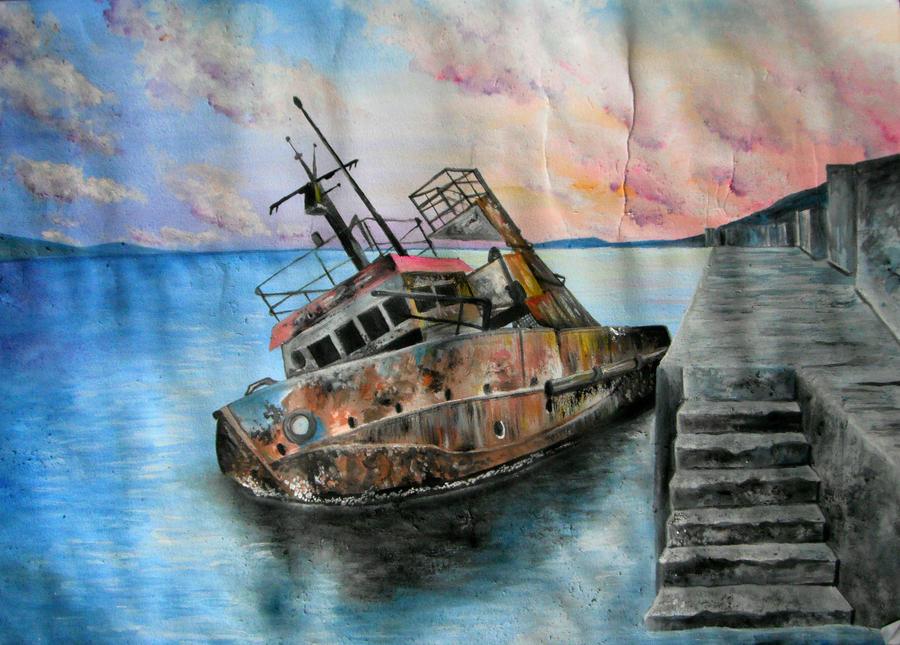 Sinking Ship by Kyla-Nichole on DeviantArt