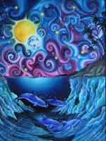 The Sea by Kyla-Nichole