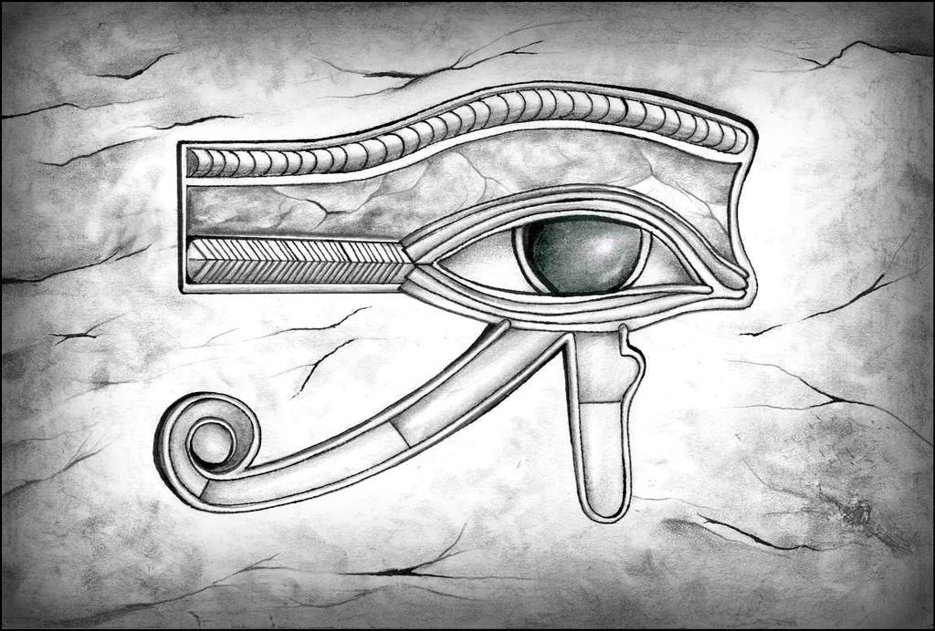 Eye of Horus by Kyla-Nichole