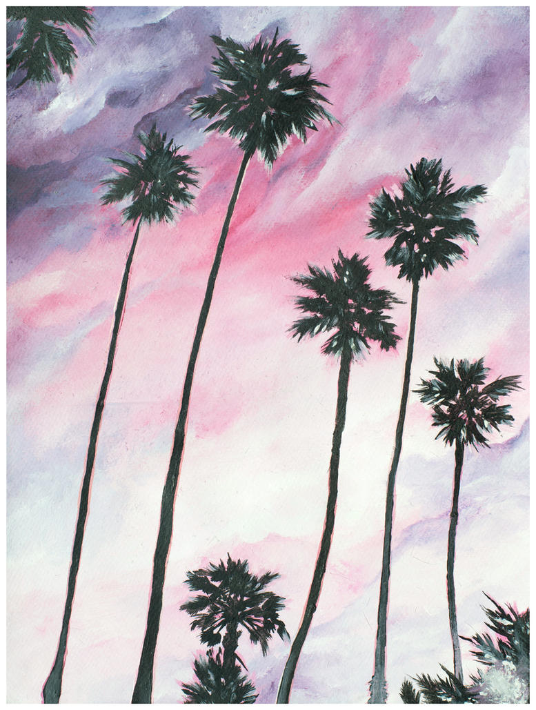 Palm Trees by Kyla-Nichole