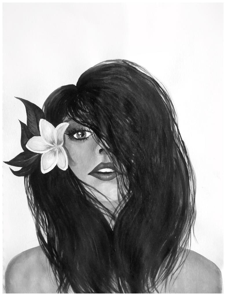 Hawaiian Girl by Kyla-Nichole