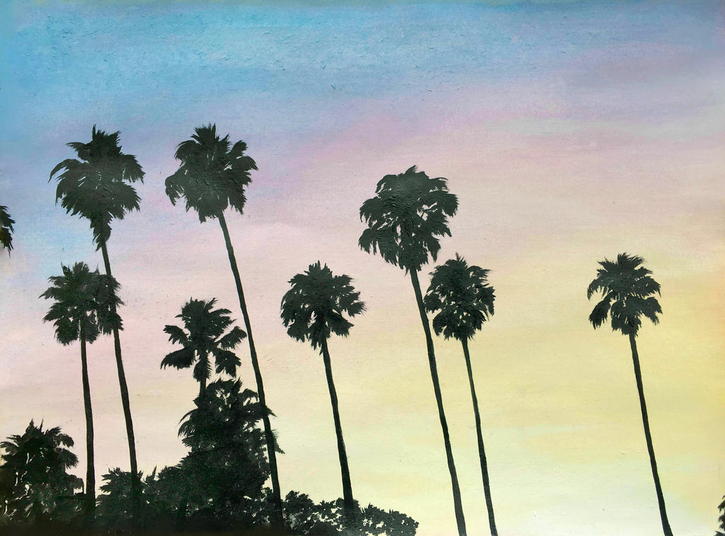 Tropical Silhouettes by Kyla-Nichole