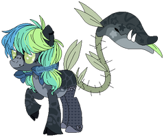 Unnamed Plant Pony by axolotlshy