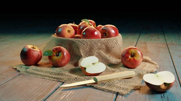 Apple Scene