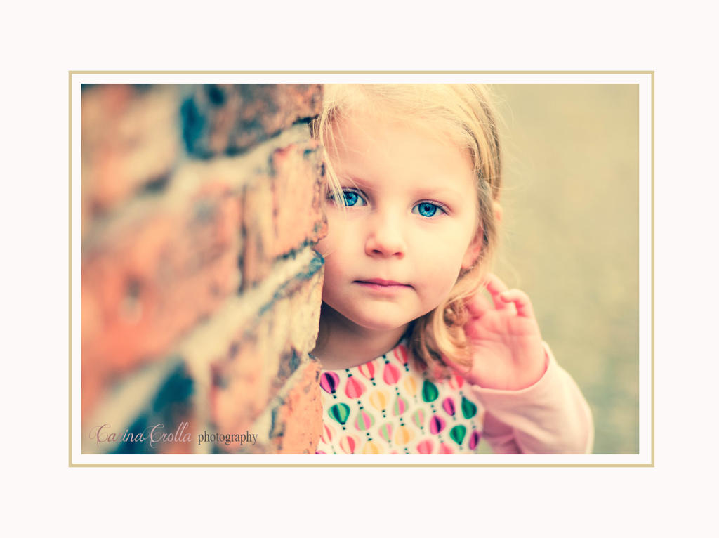 shy girl by carinasphotos
