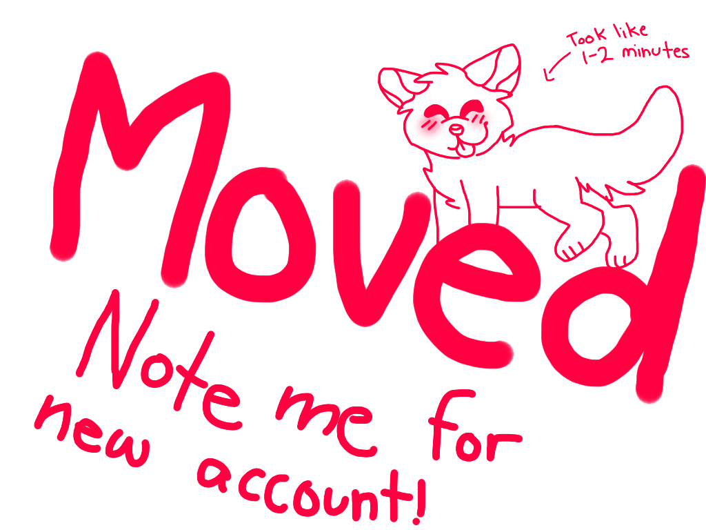 MOVING ACCOUNTS by HalloweensAdoptables