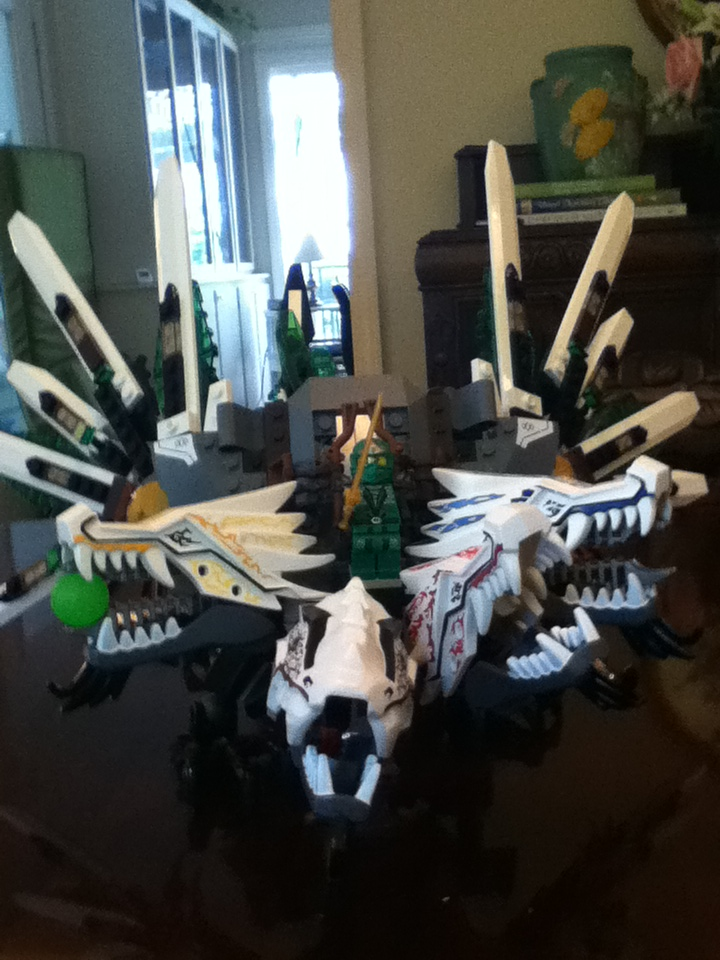 4 Headed Dragon Ninjago Lego Ninjago 4 Headed Dragon