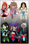 CLOSED ADOPTABLES:: Roleplaying Game Girls