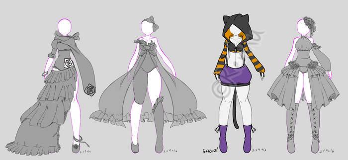 CYOP Outfits [OPEN]