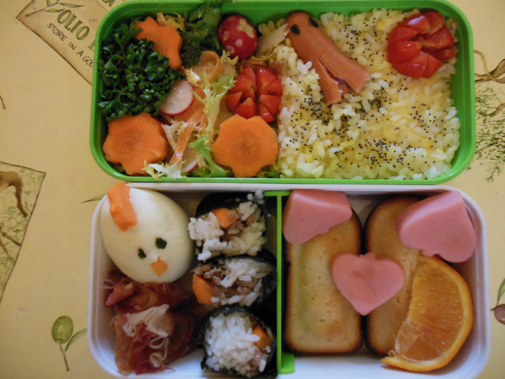 Very First Bento by Tamilucis