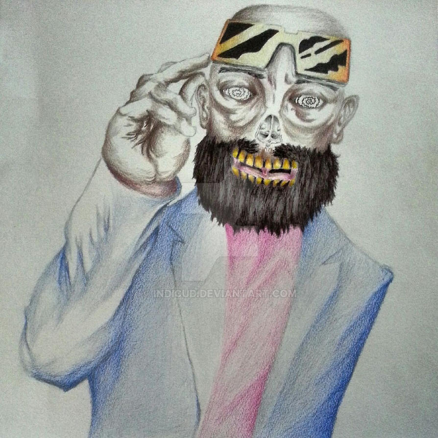 captain murphy drawing by indicud on deviantart