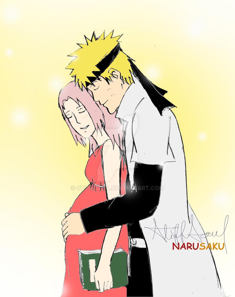 Narusaku Pregnant